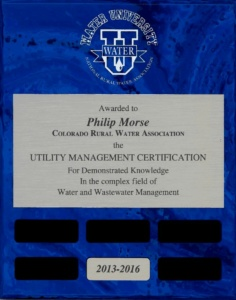 Utility Management Certificate